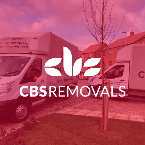 CBS Removals vans removing possessions from one property to another for a house move