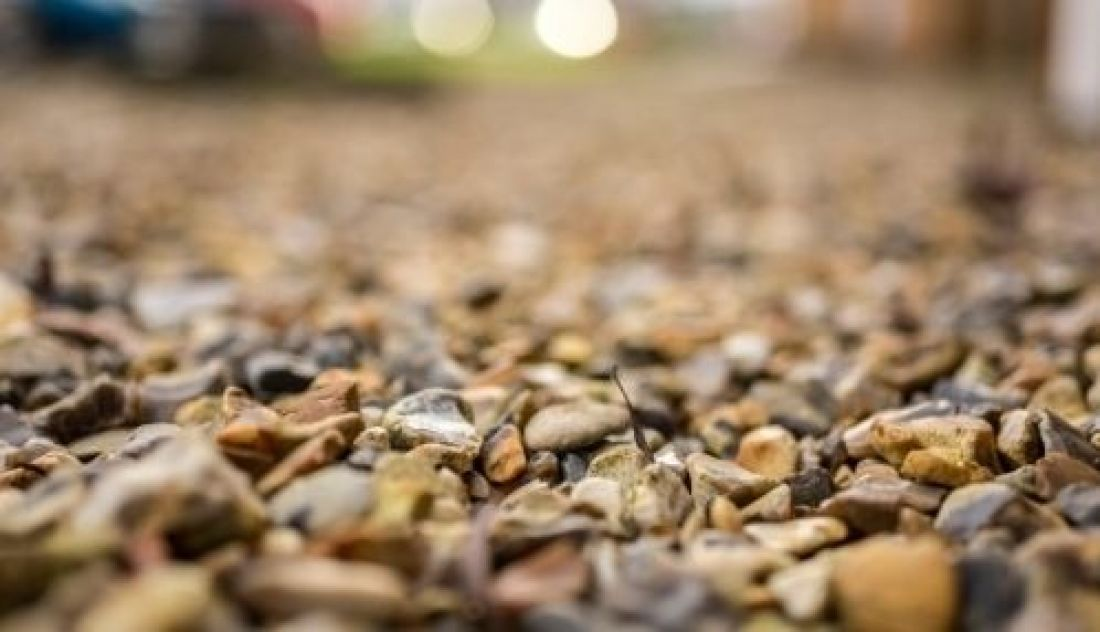 Problems with crushed stone driveways