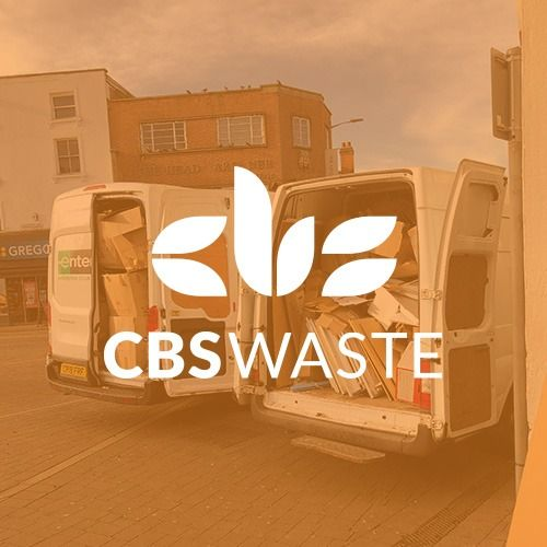 CBS Vans removing waste from commercial property